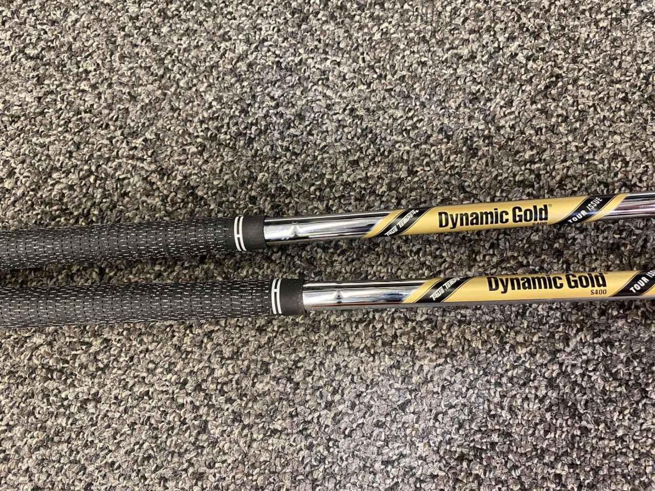 画像: シャフトはダイナミックゴールド ツアーイシューのS400フレックス