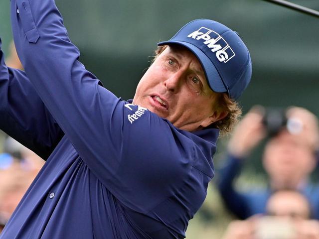 画像: 全米オープンに勝利すれば、キャリアグランドスラム達成となるフィル・ミケルソン(写真は2019年の全米オープン 撮影/有原裕晶)