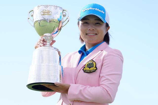 画像: ツアー2勝目を挙げた永峰咲希(写真は2020年の日本女子プロゴルフ選手権コニカミノルタ杯 代表撮影/姉崎正)