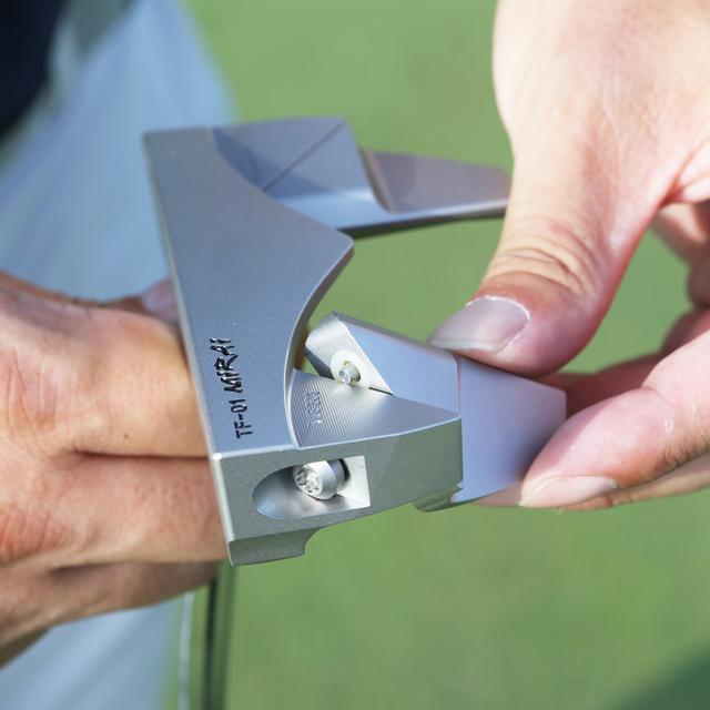 画像: 【ピン型・マレット型 2in1変形パター】匠ジャパン「TF-01 Mirai」 ※購入特典あり-ゴルフダイジェスト公式通販サイト「ゴルフポケット」