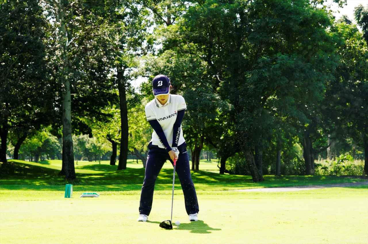 Images : 1番目の画像 - 古江彩佳のドライバー連続写真 - みんなのゴルフダイジェスト