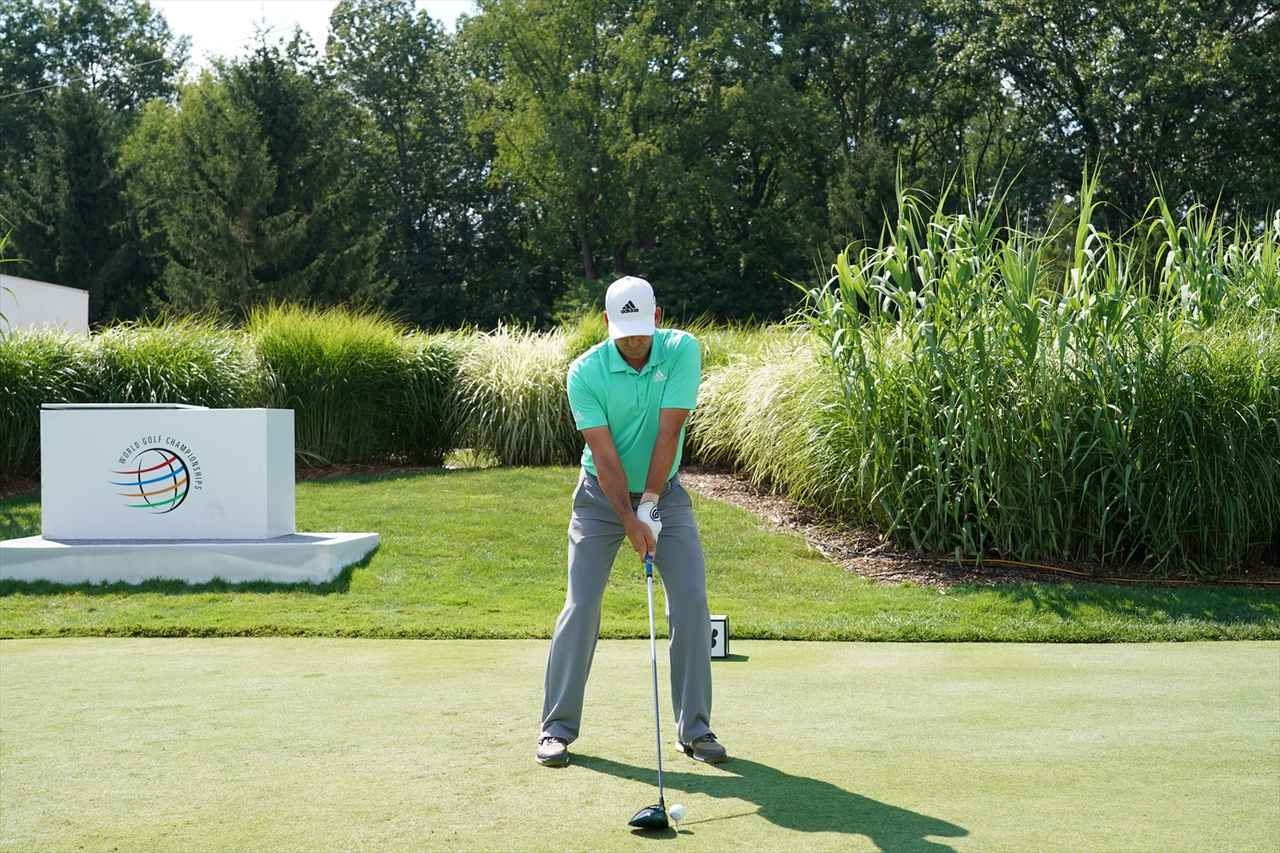 画像: 1番目の画像 - S・ガルシアドライバー連続写真 - みんなのゴルフダイジェスト