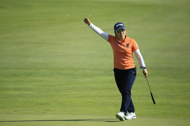 画像: 勝みなみに続き、プロの試合で優勝を挙げた畑岡奈紗。先週の「ショップライトLPGAクラシック」では単独4位フィニッシュ(写真/LPGA GettyImages)