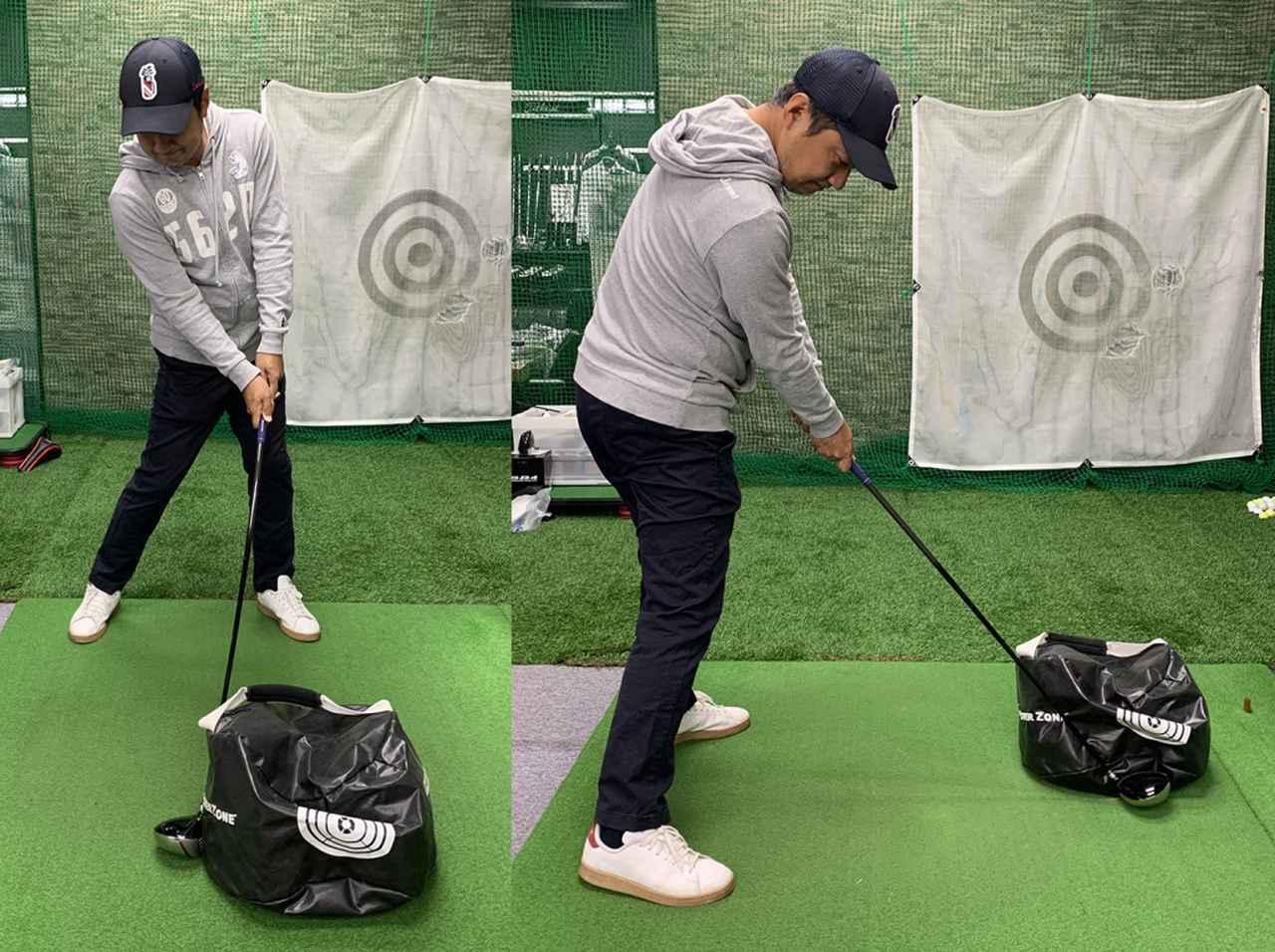 画像: 重いものを押してみて、一番強く押せる位置がボールに一番力が伝わりやすい位置ということになります