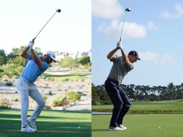 画像: マシュ―・ウルフ(左)とジム・フューリック(右)のトップを見ても似ているのがわかる。