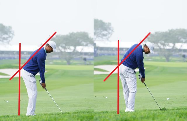 画像: 画像B アドレス時よりもインパクトでは目とボールの距離が近づく意識を持つことで下半身のリードやリリースのタイミングに気づきが生まれる(写真/姉崎正)