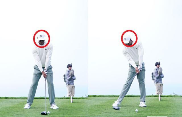 画像: 画像A ボールよりも頭と手元を右に置くアドレスからインパクトでは頭がボールよりも右にあるビハインド・ザ・ボールが見て入れる(写真は2020年のファーマーズインシュランスオープン 写真/姉崎正)