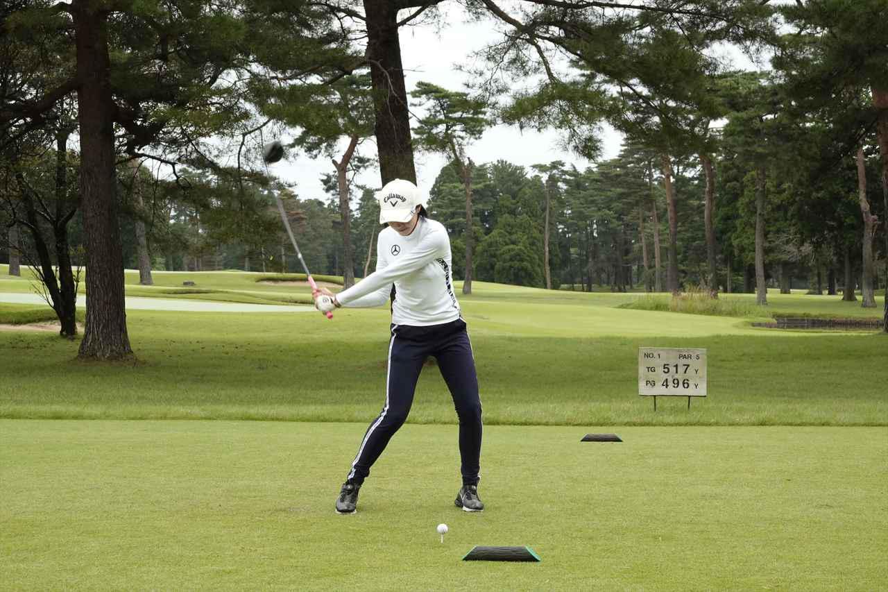 Images : 8番目の画像 - 三浦桃香のドライバー連続写真はコチラ - みんなのゴルフダイジェスト
