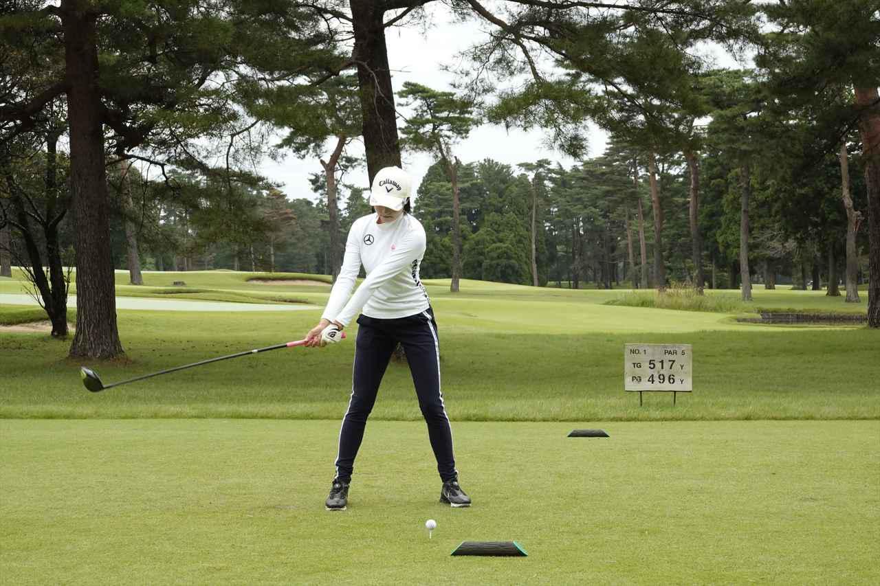 Images : 2番目の画像 - 三浦桃香のドライバー連続写真はコチラ - みんなのゴルフダイジェスト