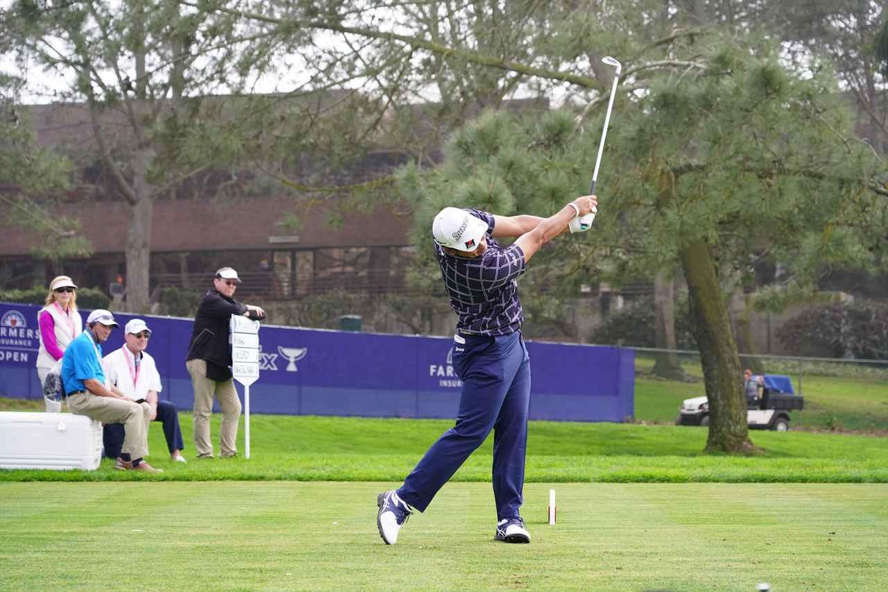 Images : 16番目の画像 - 松山英樹正面アイアンショット - みんなのゴルフダイジェスト
