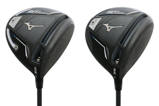画像: ミズノの現行シリーズ「ST200X」(左)と「ST200」(右)