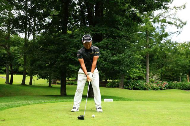 画像: 1番目の画像 - 稲森佑貴のドライバー連続写真 - みんなのゴルフダイジェスト