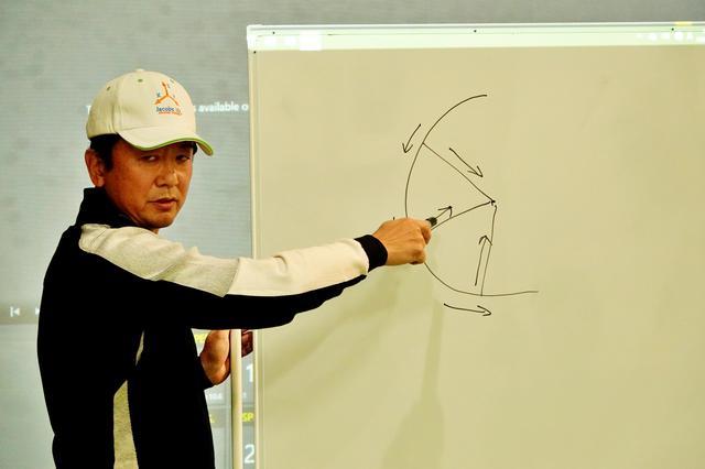 画像: 米国の最新理論「ジェイコブス3D」のアンバサダーである松本タスク氏のセミナーを受講し、その理論を吸収