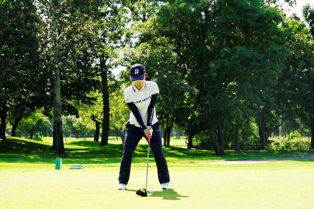 画像: 1番目の画像 - 古江彩佳のドライバー連続写真 - みんなのゴルフダイジェスト