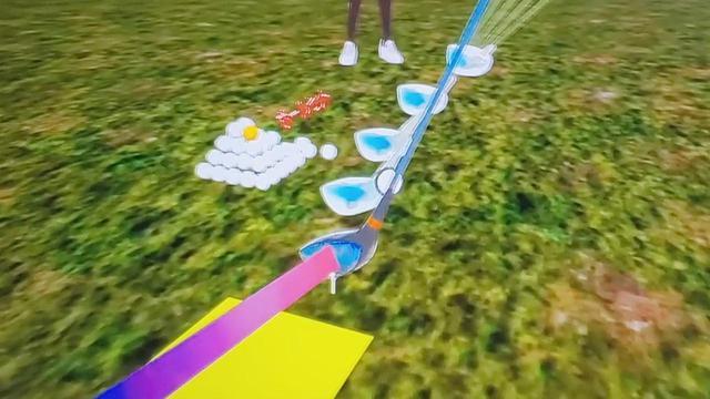 画像: インパクト付近でのヘッドの動きも、スウィング後にすべて見直すことができます