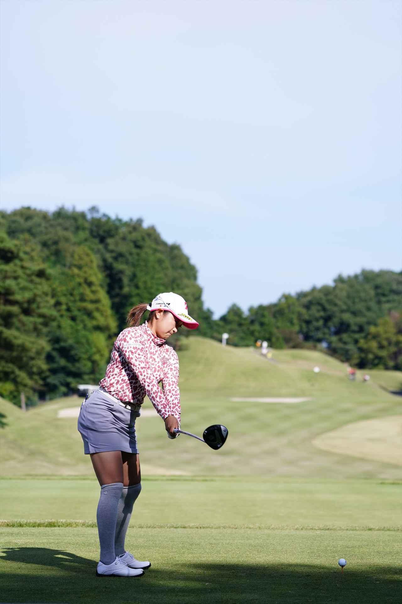 Images : 2番目の画像 - 高木優奈 ドライバー後方連続写真 - みんなのゴルフダイジェスト