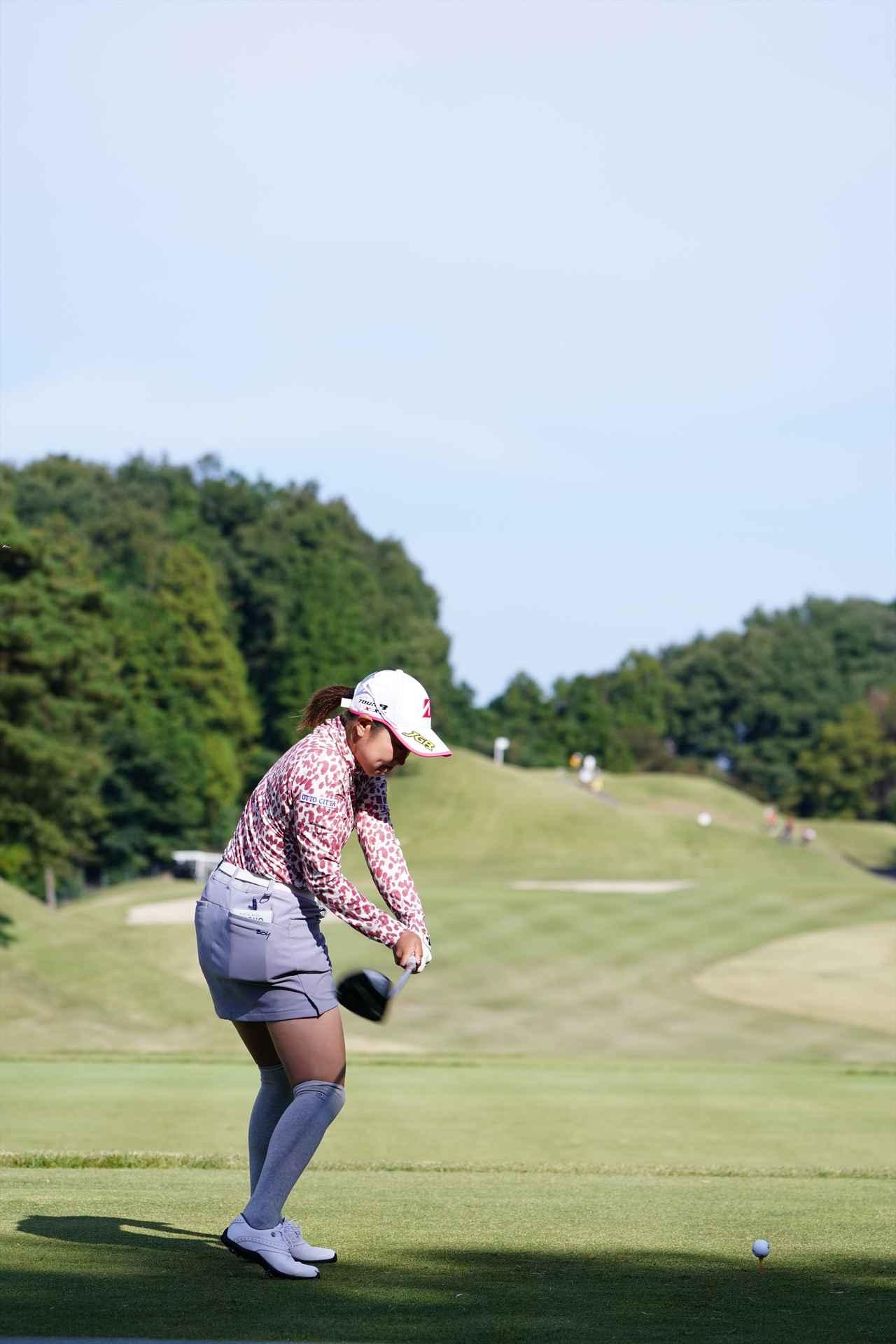 Images : 10番目の画像 - 高木優奈 ドライバー後方連続写真 - みんなのゴルフダイジェスト
