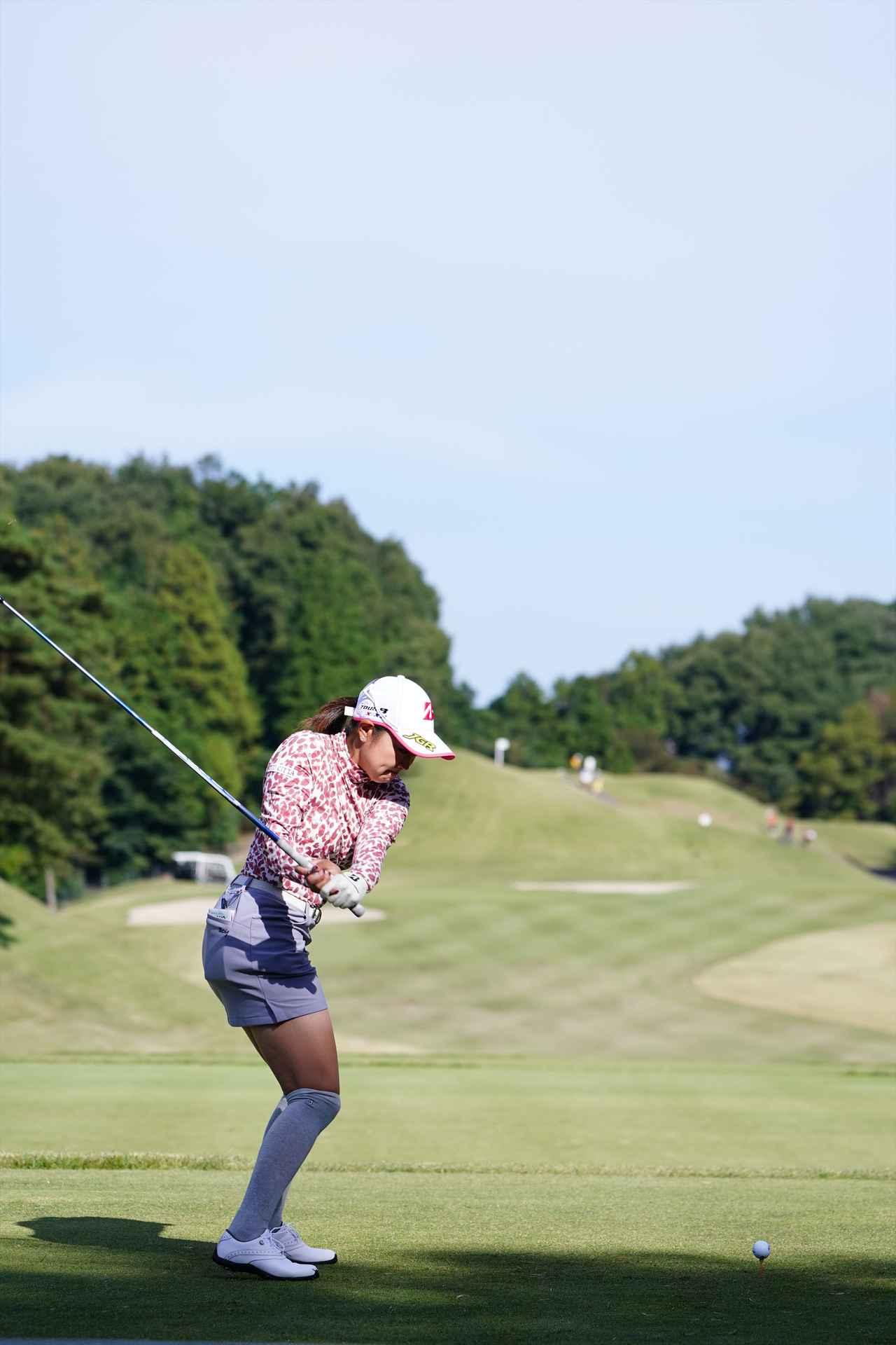 Images : 9番目の画像 - 高木優奈 ドライバー後方連続写真 - みんなのゴルフダイジェスト
