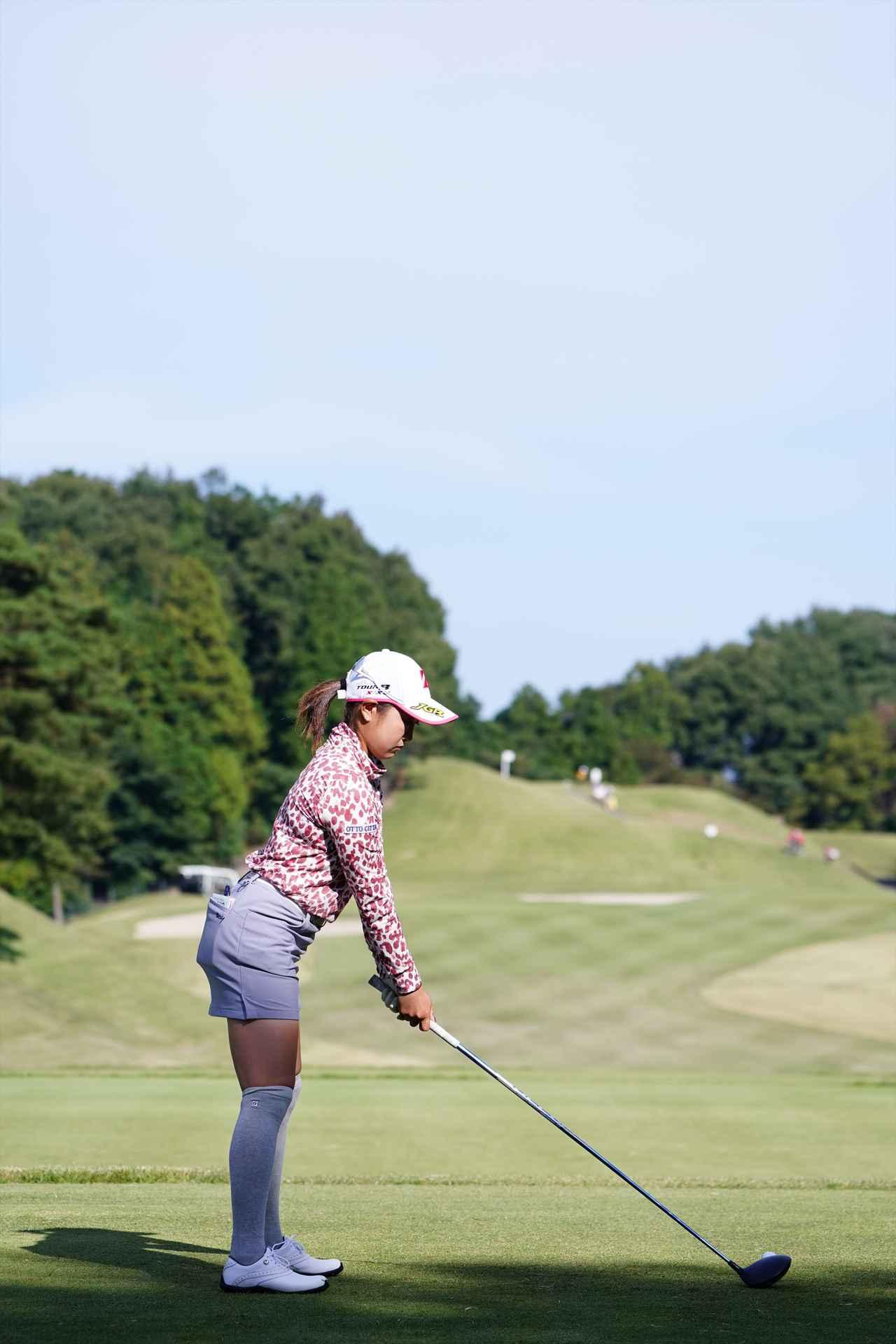 Images : 1番目の画像 - 高木優奈 ドライバー後方連続写真 - みんなのゴルフダイジェスト