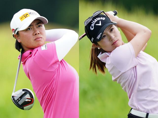 画像: 笹生優花(左)は2勝、西村優菜(右)は1勝を挙げている(写真は2020年の日本女子プロゴルフ選手権大会コニカミノルタ杯 撮影/姉崎正)