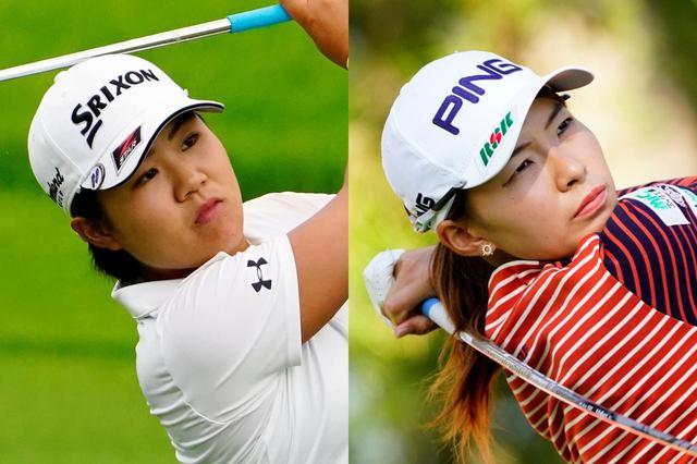 画像: 現時点では畑岡奈紗(左)、渋野日向子(右)の2名が出場圏内