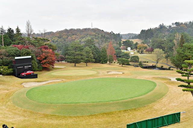 画像: 国内男子ツアー最終戦の舞台となる東京よみうりCC18番パー3(写真は2020年のゴルフ日本シリーズJTカップ 写真/有原裕晶)