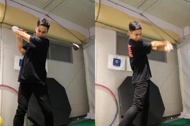 画像: 体全体をフルに動かすユージのスウィングは、あまりヘッドが加速していかないと指摘する高島