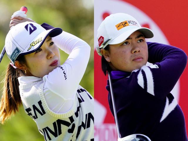 画像: 古江彩佳(左)は3勝、笹生優花は2勝を挙げた(写真は2020年のJLPGAリコーカップ 撮影/岡沢裕行)