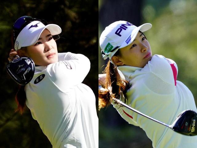 画像: 原英莉花(左)は今季2勝、渋野日向子(右)は米ツアーを主戦場としてレベルアップを目指している(写真は2020年のJLPGAリコーカップ 撮影/岡沢裕行)