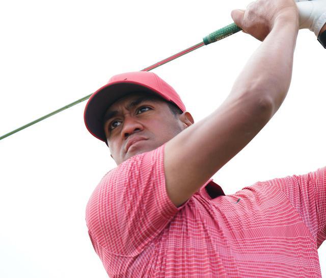 画像: PGAツアー「マヤコバゴルフクラシック」の3日目にホールインワンを達成し8位タイで終えたトニー・フィナウ(2020年のファーマーズインシュランスオープン 写真/姉崎正)