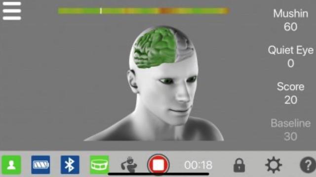 画像: Focusband(フォーカスバンド)で表示される画面。(画像は公式ホームページより転用)