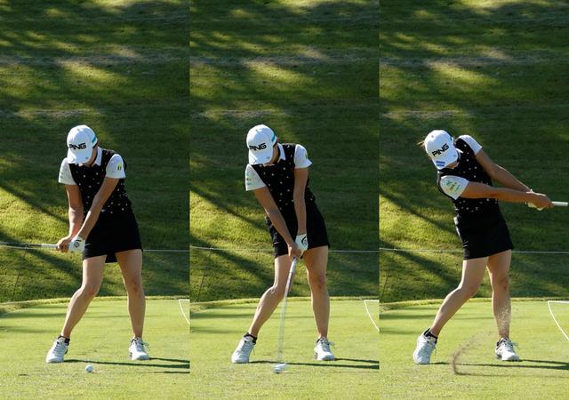 画像: 正確でしっかりと力を伝えられる腰から腰までの振り幅はスウィングの根幹部分だ