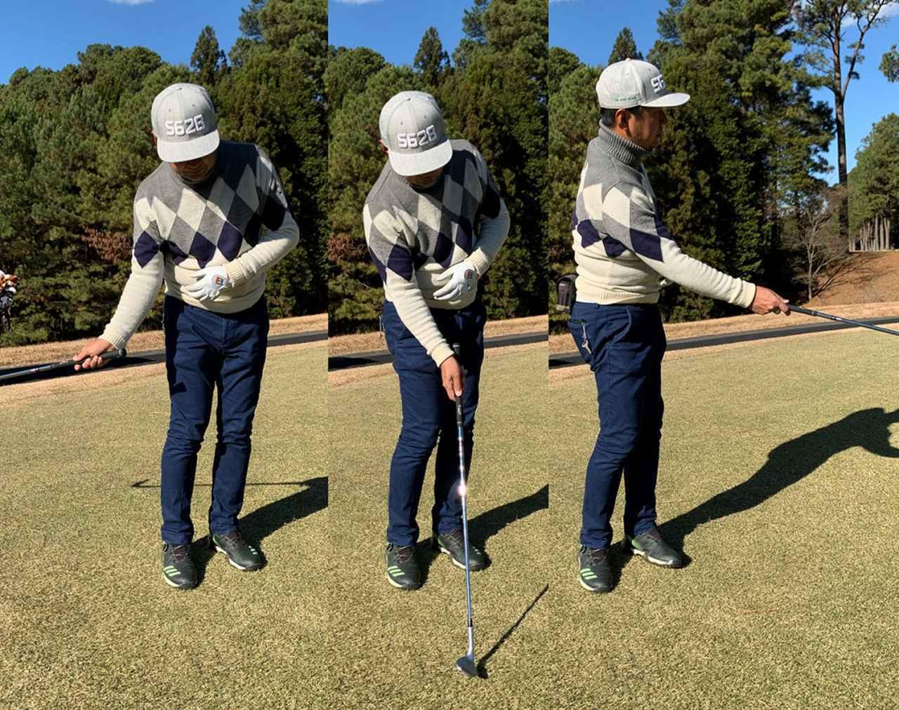 画像: 腕の力を抜き、右手一本でキャスティングするように振ってみると動きが理解しやすいです