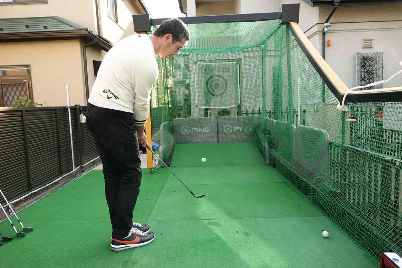 画像: 自宅の庭を改造し鳥かごの練習スペースをDIYで作った佐久間拓也さん