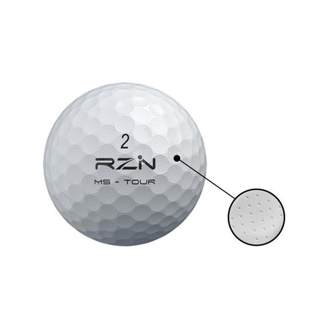 画像: 両モデルとも微小なマイクロディンプルを採用し、空力特性と食いつき力を高めている
