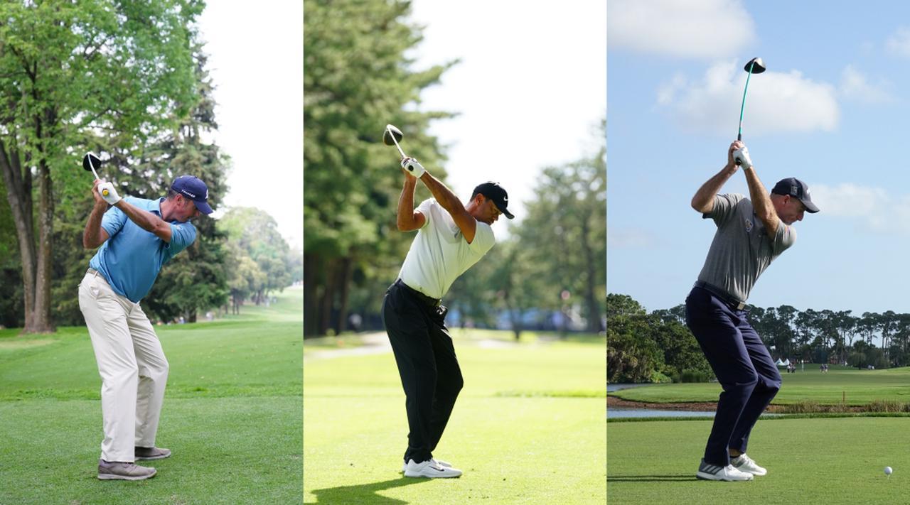 """画像: 「身長」と「広げた両腕」どっちが長い? 最適スウィングが一発でわかる米国トップコーチの""""よっつのテスト"""" - みんなのゴルフダイジェスト"""