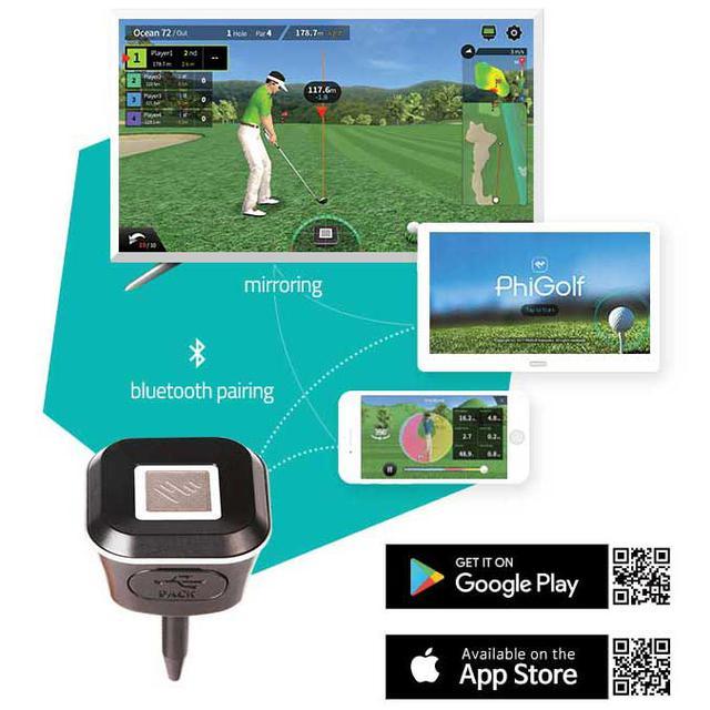 画像: 【海外有名コース、国内有名コースを3DMAPで実現】PHIGOLF 家庭用シミュレーター ゴルフ-ゴルフダイジェスト公式通販サイト「ゴルフポケット」