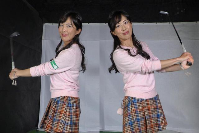 画像: スウィングリズムを整えるためのとっておきのドリルを教え上手の美人プロ・小澤美奈瀬に教えてもらおう
