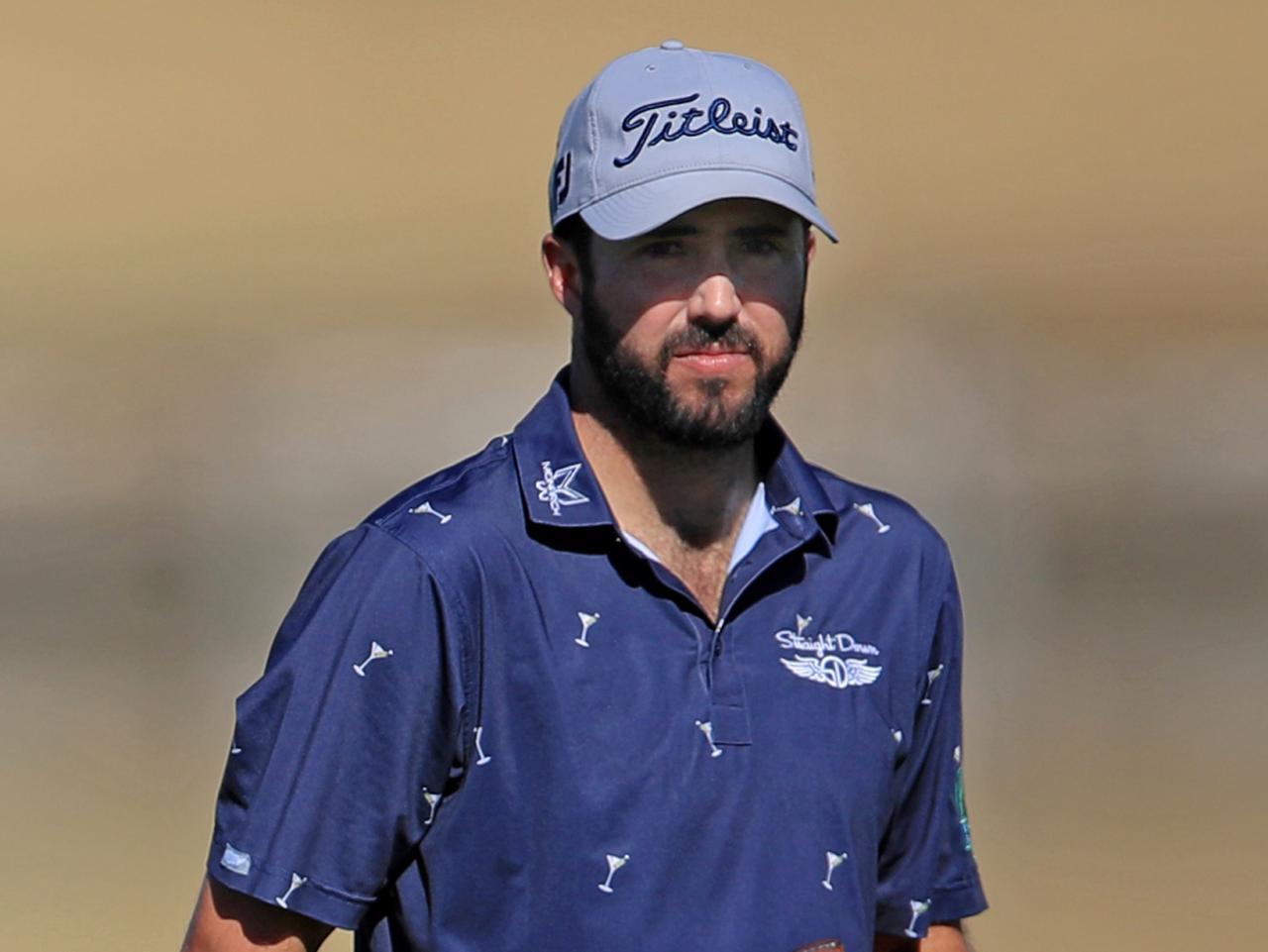 画像: PGAツアー「ザ・アメリカンエキスプレス」に出場したマーク・ハバードの奇抜なパッティングが話題となっている(写真/Getty Images)