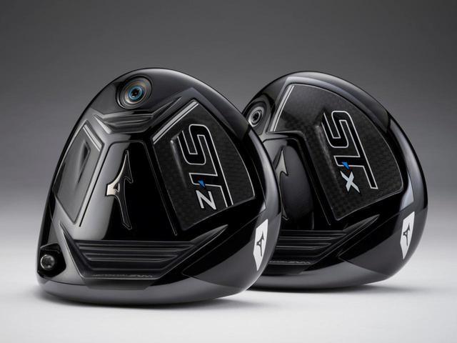 画像: ミズノが新たに発表したドライバー「ST-Z」(左)と「ST-X」(右)