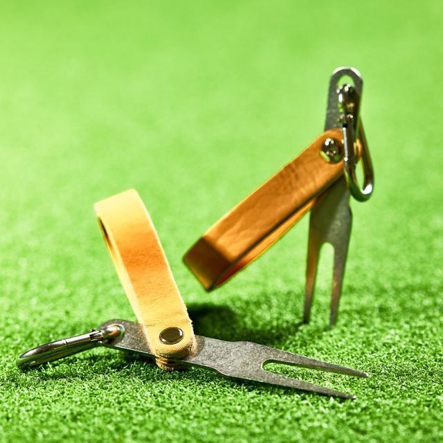 画像: 【楽天市場】HIKER レザー グリーンフォーク:ゴルフポケット楽天市場店