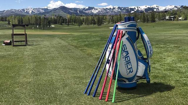 画像: 【楽天市場】ゴルフSWINGトレーナー SABER(セイバー)1.5:ゴルフポケット楽天市場店