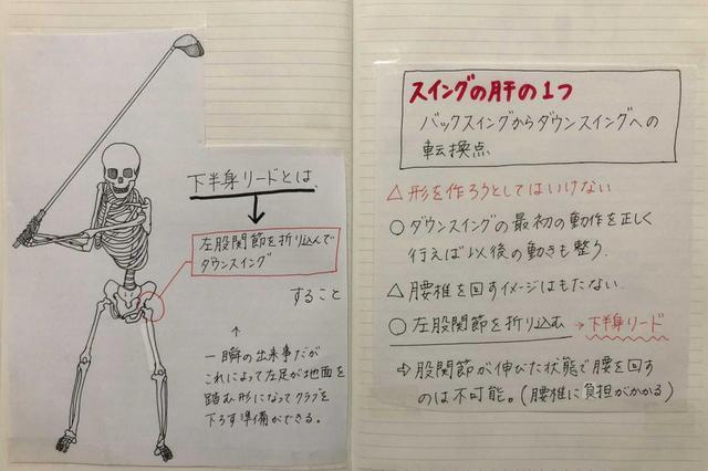 画像: 左股関節を折り込んで、切り返しいこう(写真提供/大谷奈千代)