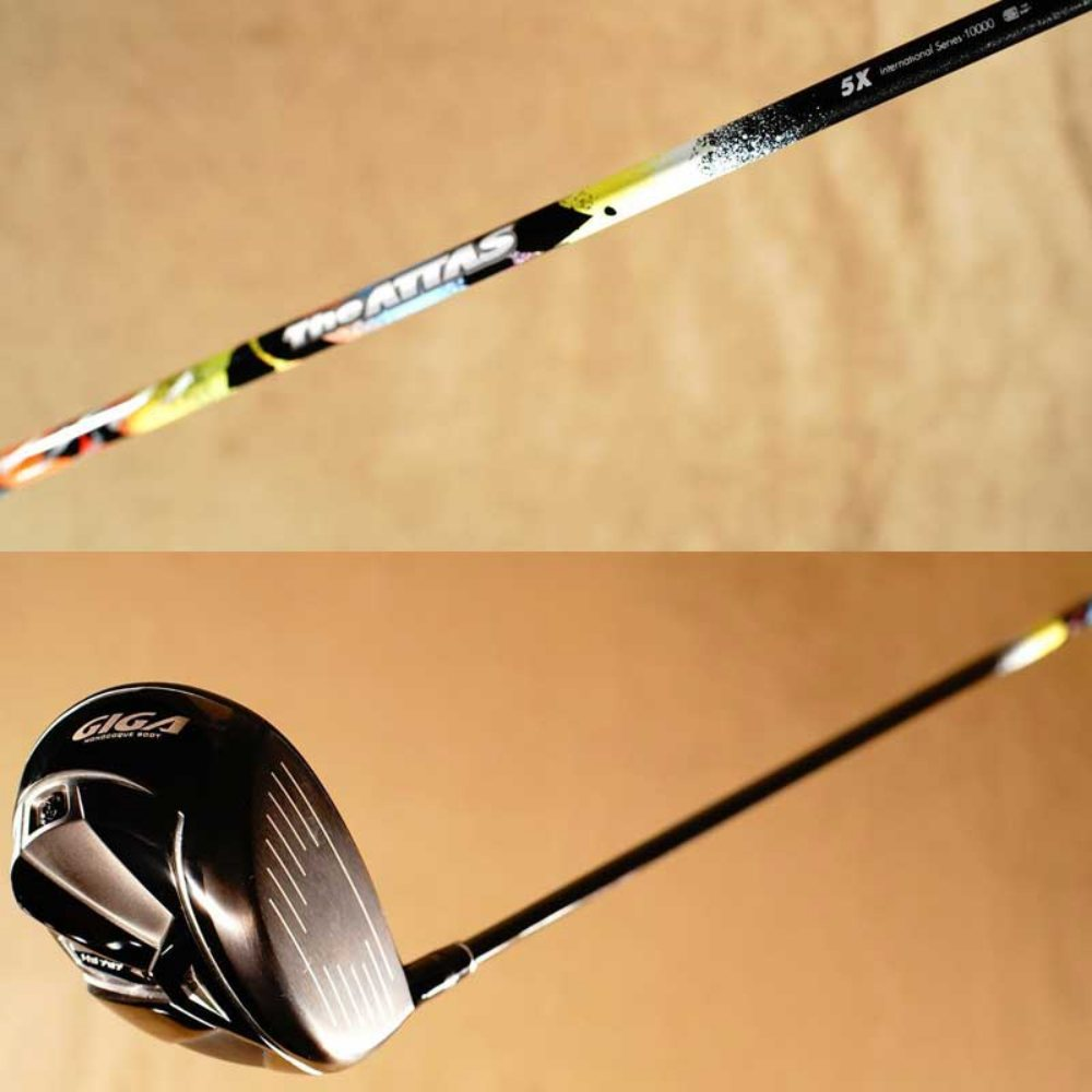 画像: 【楽天市場】【HS40〜45ドロー系ゴルファーに最適!】The ATTAS(5X)×GIGA HS797カスタムチューンドライバー:ゴルフポケット楽天市場店