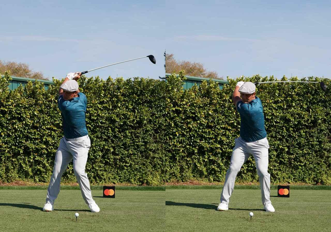 画像: 画像B 切り返しの捻転差を大きく作ることで筋肉の伸張反射を起こし飛ばしのエネルギーを得る