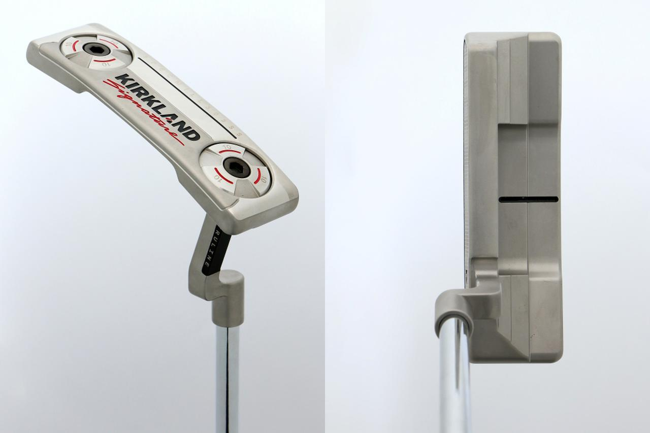 画像: カークランドシグネチャー「KS1パター」。オードソックスなピン型で、ネック形状はクランクネック
