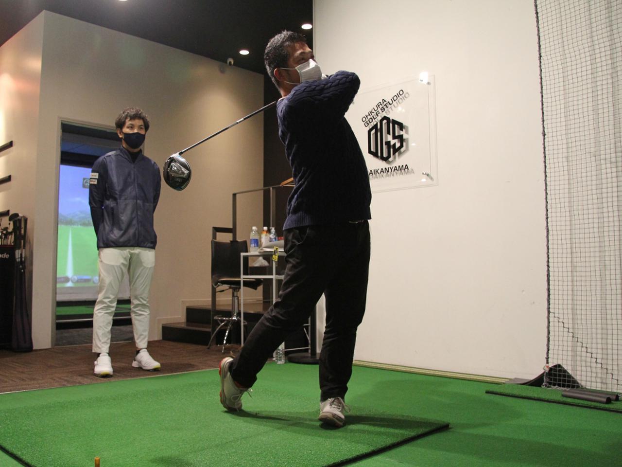 画像: Sは平均スコア90前後、ゴルフ歴約15年の中年ゴルファー。ヘッドスピードは42~43m/sのフェードヒッター