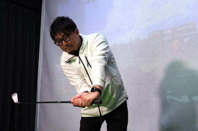 画像: 飛距離アップ請負人の異名を持つ、吉田一尊プロ。アマチュアの大きな悩み「手打ち」について詳しく解説してもらった