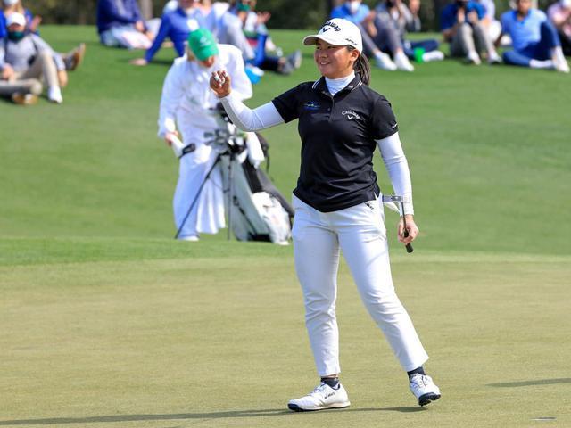 画像: 今年はプロテストを受験予定の梶谷。来シーズンからはツアーで活躍する姿が見られるかもしれない(写真提供/2021 Augusta National Women's Amateur)