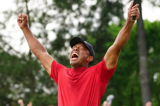 画像: タイガーの部屋には彼が獲得した15個のメジャートロフィのみが飾ってあったという(写真は2019年のマスターズ 撮影/姉崎正)